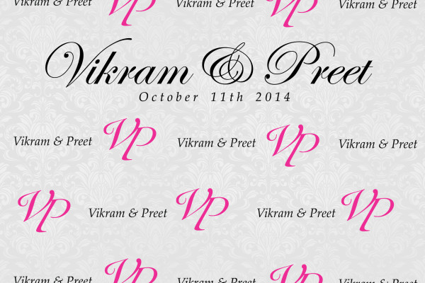 Vikram-&-Preet---Media-Wall-Outlines